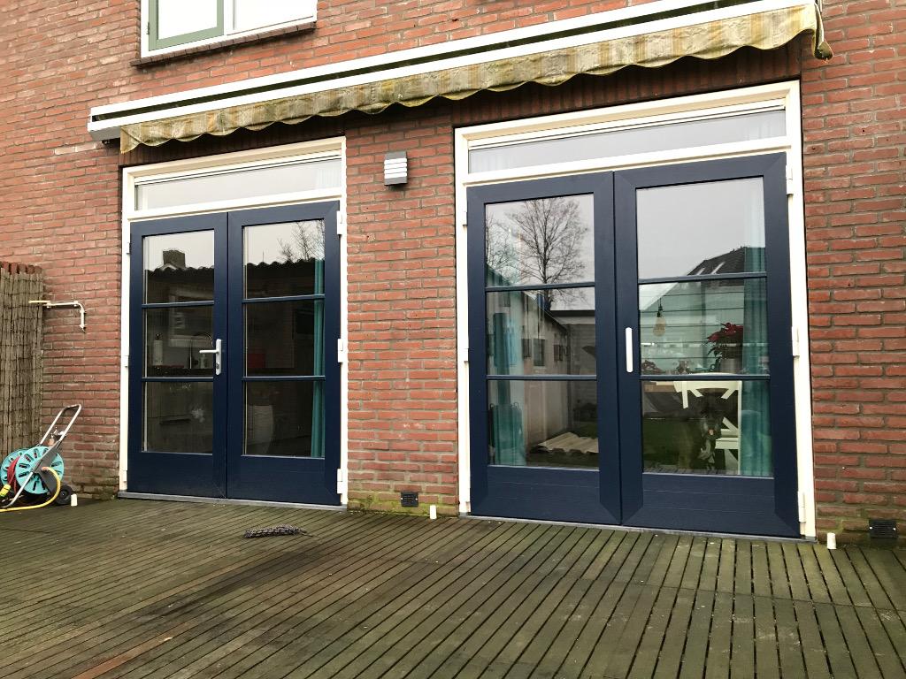 Numaga Kozijnen Nijmegen - Kunststof Achterdeuren Maasbommel 1024x768